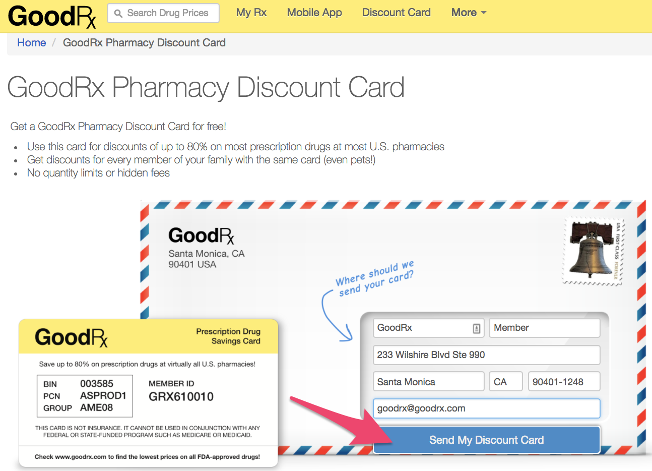 How can I request a discount card? – Support